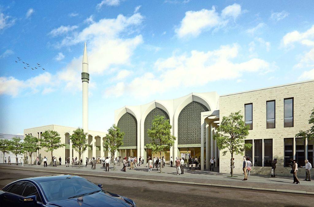 Das neue Gemeindezentrum wird  aus finanziellen Gründen wesentlich kleiner als ursprünglich geplant. Foto: SL Rasch GmbH