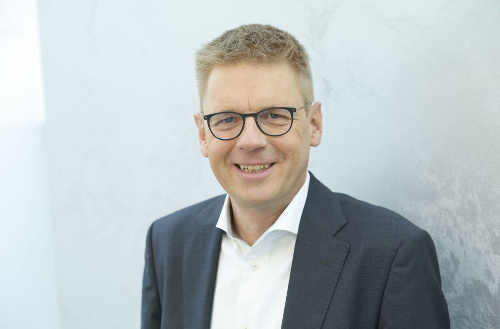 Wer in Schweden scheitert, ist sozial abgesichert, sagt Mats  Gökstorp, Vertriebsvorstand  des Sensorenherstellers Sick. Foto: Sick