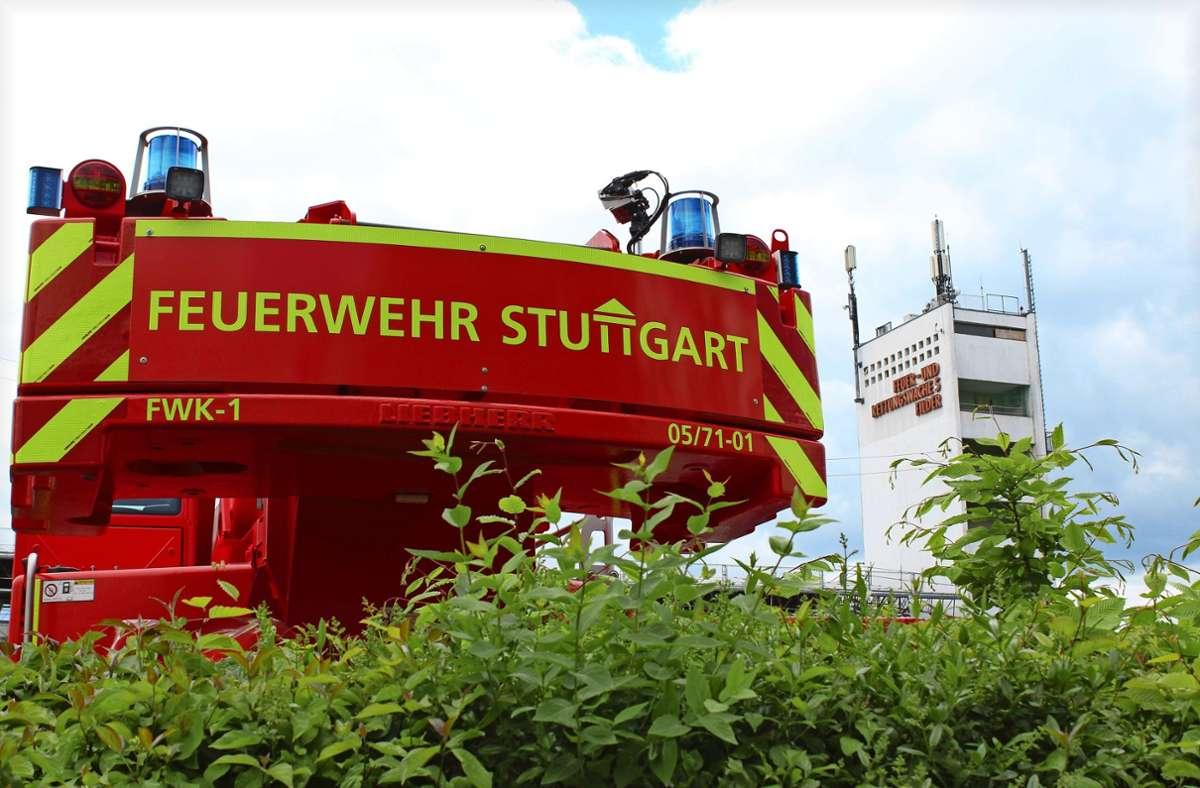 Noch hat die die Feuerwache 5  ihren Sitz in Degerloch. Foto: Jacqueline Fritsch