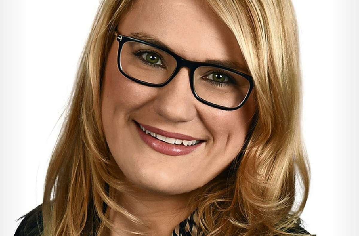 Christina Stumpp will für die CDU in den Bundestag. Foto: Verband Region Stuttgart