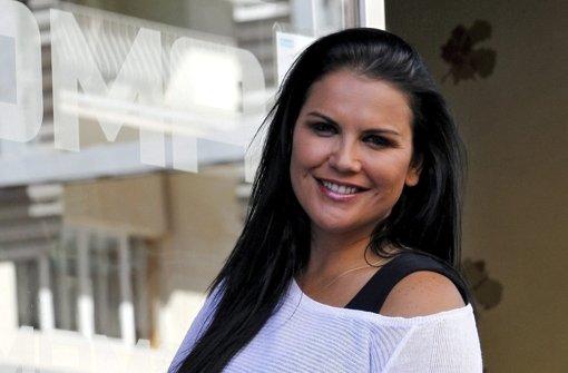 Katia Aveiro, die Schwester von Fußball-Star Cristiano Ronaldo, ...