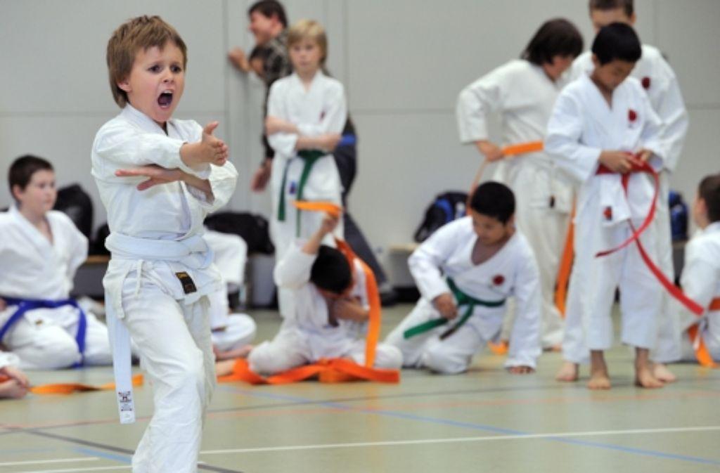 In den oberen Neckarvororten wurde eine Kindersportschule gegründet. Foto: dpa