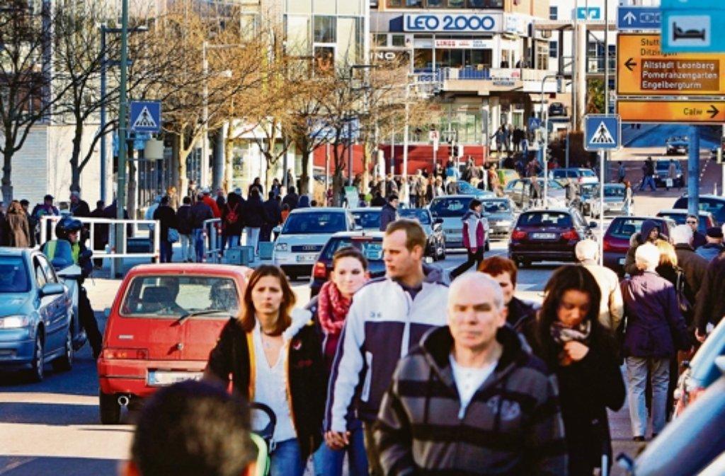 Sonnig und kühl – bestes Shoppingwetter. Foto: LKZ/Archiv