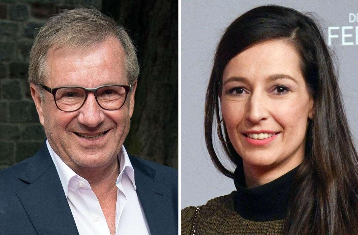 Jan Hofer und Pinar Atalay moderieren die neue News-Show bei RTL. Foto: dpa/Pförtner
