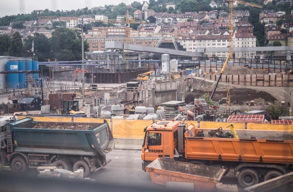 """Der bisherige Eigenanteil, den die Bahn für S21 ausgegeben habe, bewege sich """"in überschaubarem Rahmen"""", sagt Bahn-Finanzchef Richard Lutz. Foto: Lichtgut/Max Kovalenko"""