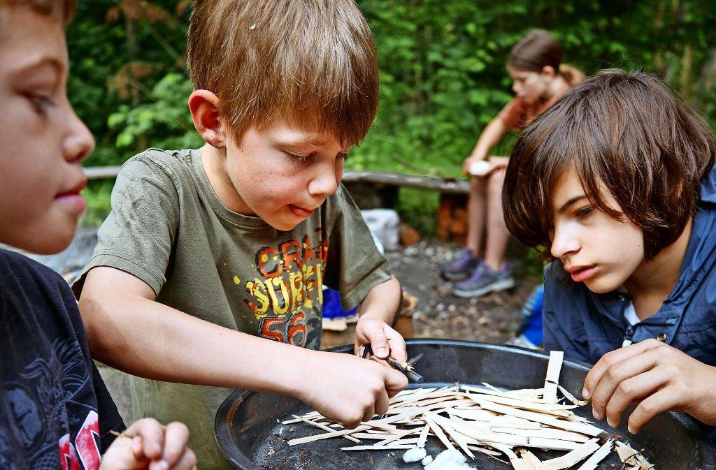 Im Wieslaufcamp können Kinder die Natur entdecken. Foto: Gottfried Stoppel