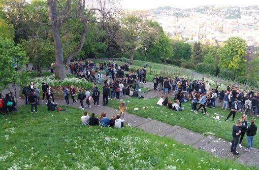 Bis zu 500 Abiturienten feierten auf der Karlshöhe. Die Polizei  schickte sie weg. Foto: Marshall Gastronomies