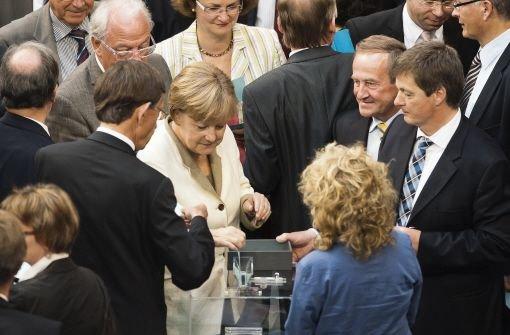 Koalition trägt Griechenland-Kurs mit