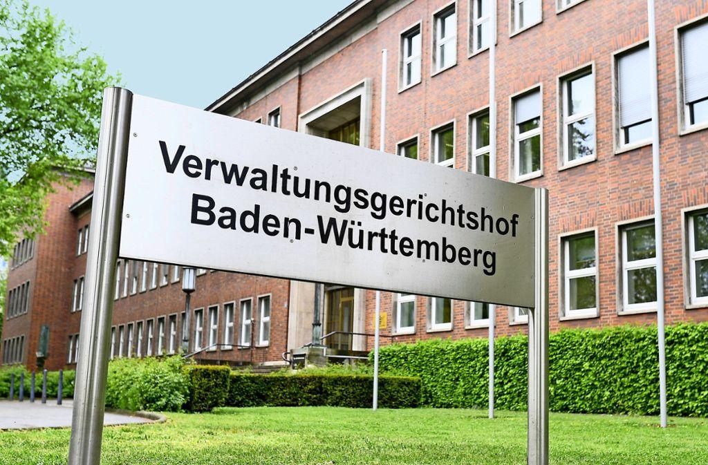 Um ihre Forderungen durchzusetzen, behelfen sich die Städte mit Klagen am Verwaltungsgerichtshof in Mannheim. Foto: dpa