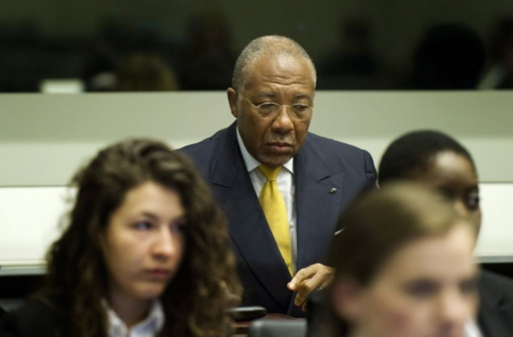 Nigerias ehemaliger Präsident Charles Taylor  muss 50 Jahre in Haft. Foto: dpa