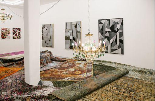 Ein Teppichdesigner ist heimlicher Star