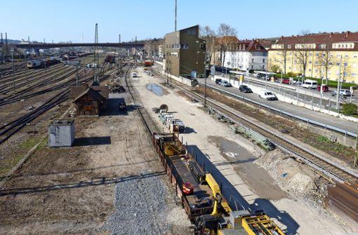 Neuer Bauantrag für den  Abstellbahnhof