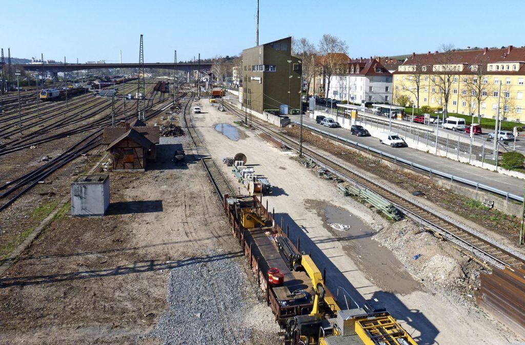 Der ehemalige Güterbahnhof Untertürkheim soll zum Abstellbahnhof umgebaut werden. Foto: Alexander Müller
