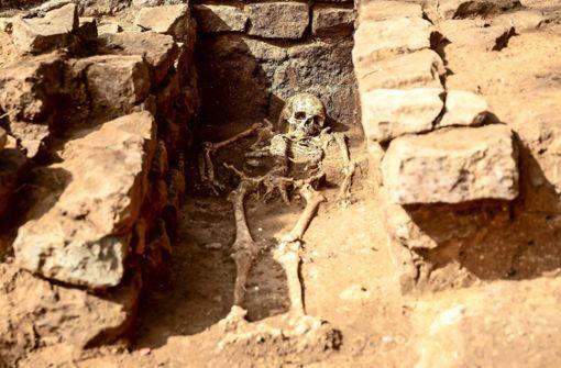 Friedhof aus dem Frühmittelalter gefunden