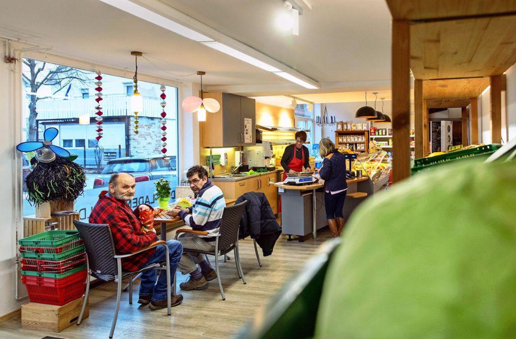 Der Dorfladen in Lorch-Waldhausen ist aufwendig saniert – doch Gewinn wird er erst mal nicht machen. Foto: