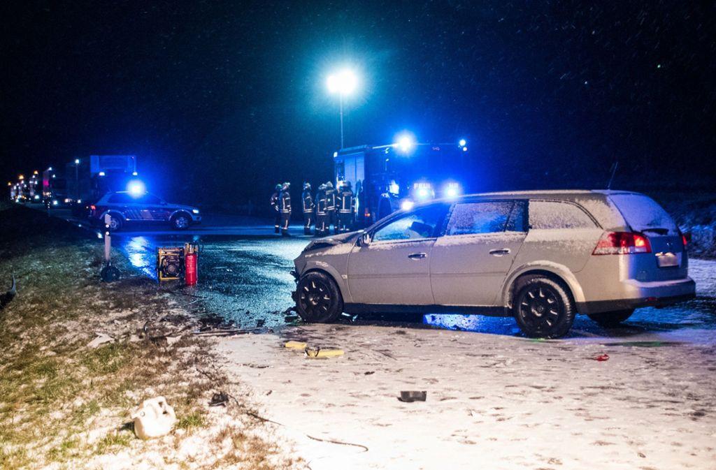 Eine 24-Jahre alte Frau ist am Freitag bei Albstadt ums Leben gekommen. Foto: dpa/Jannik Nölke