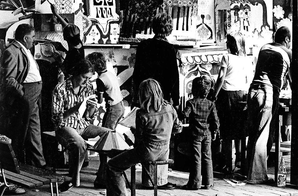 Im Spielhaus war auch vor 40 Jahren schon richtig viel los. Foto: Spielhaus