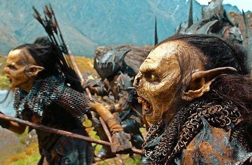 """Jetzt wird's schön! Die Orks im """"Herrn der Ringe""""-Film stürmen voran. Foto: KPA"""