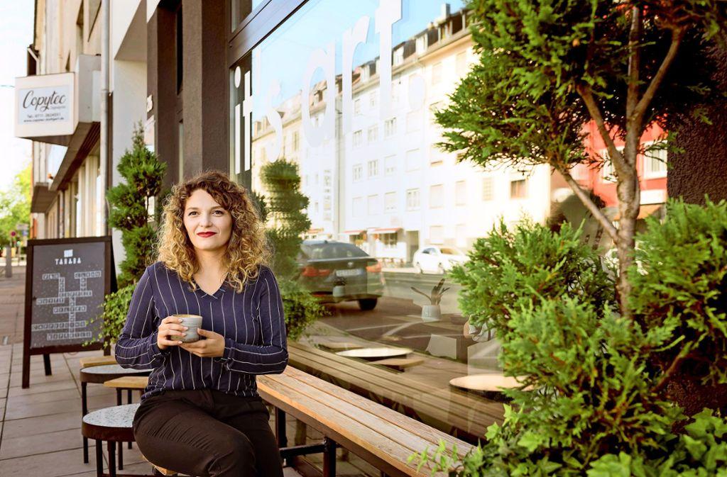 Sich nicht von Pessimisten anstecken lassen, eines der Prinzipien von Samira Djidjeh. Foto: Lichtgut/Max Kovalenko