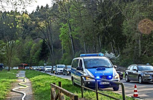 So haben 200 Helfer den Waldbrand bekämpft