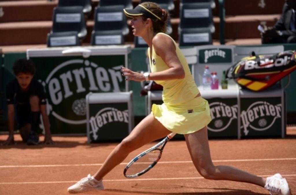 Julia Görges scheidet bei den French Open aus. Foto: EPA