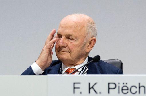 Wiederwahl und Abschied von Ferdinand Piëch