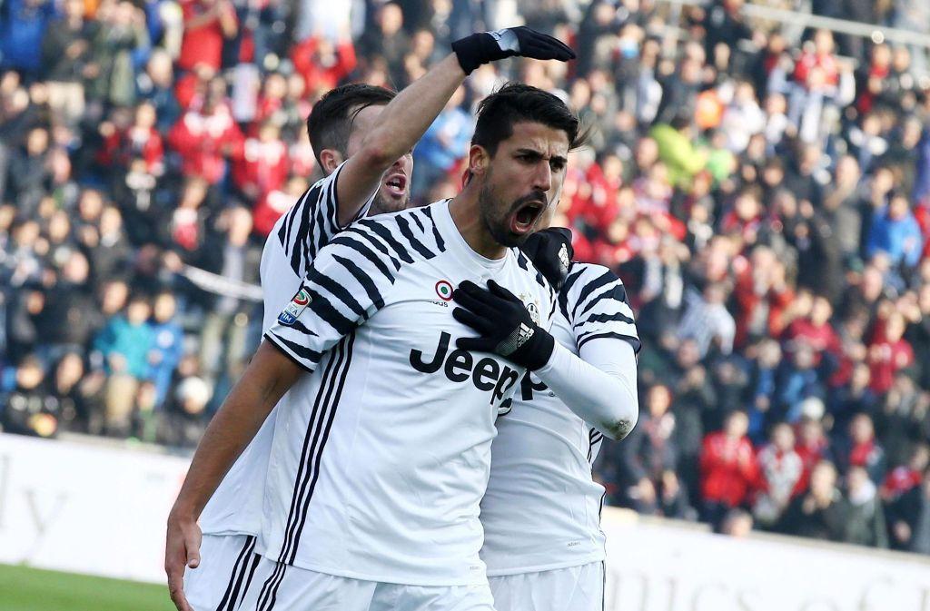 Sami Khedira spielt derzeit bei Juventus Turin. Irgendwann will er aber zum VfB Stuttgart zurückkehren. Foto: ANSA/AP