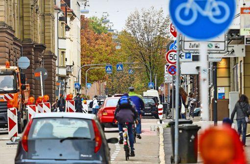 Autofahrer geben die Schillerstraße einfach nicht her