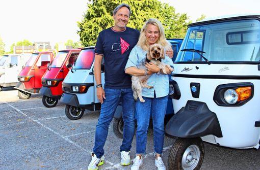 Hier bekommt man das drollige Kultmobil aus Italien