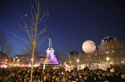 Zehntausende Franzosen demonstrieren