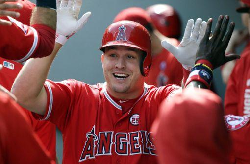 Wahnsinn: Baseball-Star Trout vor 432-Millionen-Vertrag