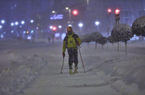 Madrid kämpft mit ungewöhnlichem Wintereinbruch