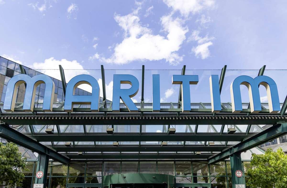 Das Hotel Maritim in Stuttgart. (Archivbild) Foto: images/Arnulf Hettrich