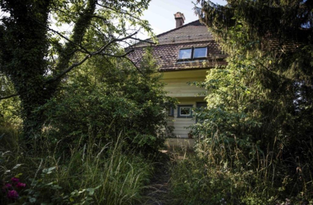 Das Wohnhaus des Architekten Hermann Finsterlin sieht nach vielen Jahren des Leerstands wie ein verwunschenes Hexenhäuschen aus. Foto: Lichtgut/Leif Piechowski
