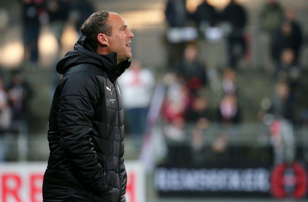 Marc Kienle fehlen gegen den Waldhof zwei seiner Stammspieler. Foto: Pressefoto Baumann