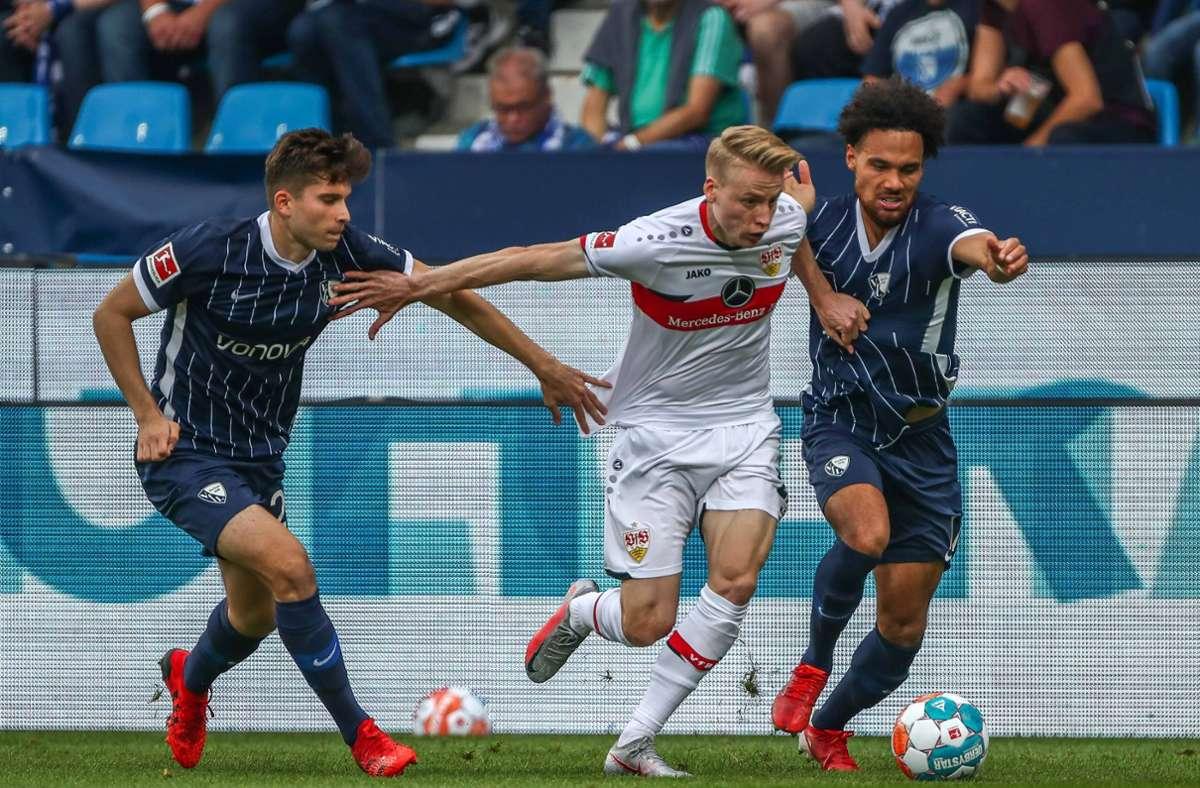 Chris Führich zeigte ein starkes Bundesliga-Debüt im Dress des VfB. Foto: imago images/Eibner/Eibner-Pressefoto/Boia Gabriel via www.imago-images.de
