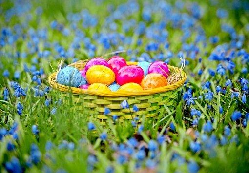 Warum werden die Eier versteckt?