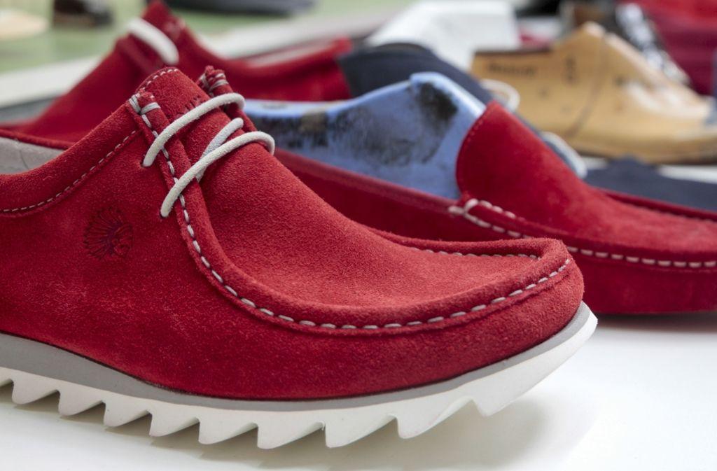 Sioux-Schuh in Anlehnung an die Mokassins der Indianer Foto: factum/Granville