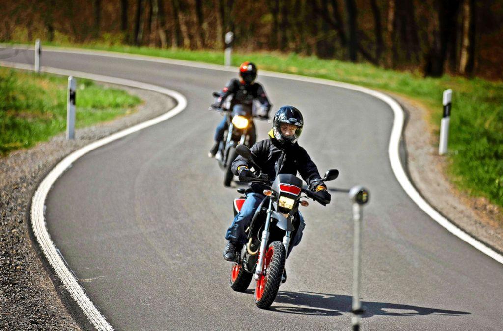 Der Rems-Murr-Kreis ist bei Bikern beliebt – viele fahren zu schnell (Symbolbild). Foto: Archiv (Stoppel)