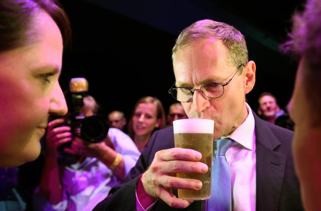 Wahlsieger Müller: Es wird nicht einfach für den SPD-Mann. Foto: dpa