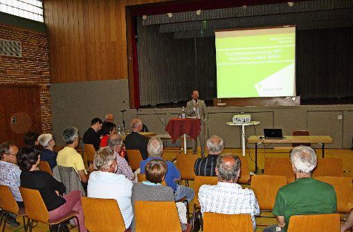 Wenig Publikum  für Filderstadts Zukunft