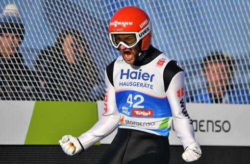 Eisenbichler Weltmeister von der Großschanze