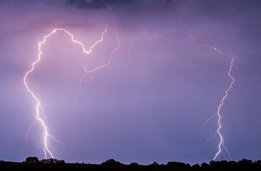 Wanderer stirbt nach Blitzschlag