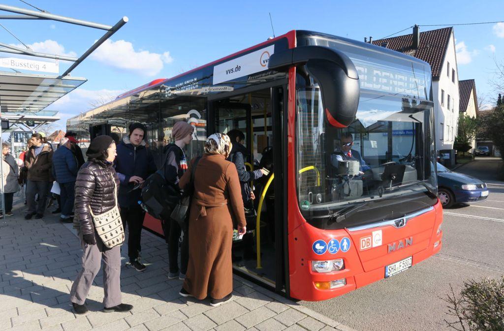 Das Busfahren innerhalb von Filderstadt kostet ab nächstem  Jahr weniger. Foto: Malte Klein
