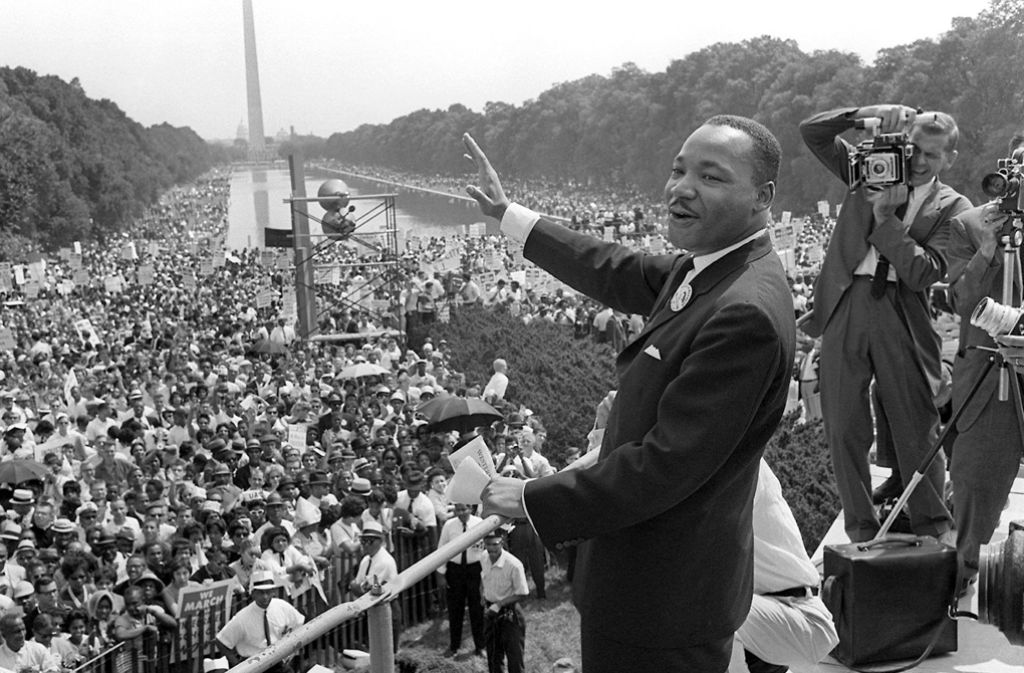 Völlige Gleichheit in den USA, die  Martin Luther King forderte, bleibt Utopie. Foto: dpa
