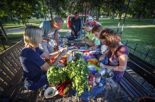 Camping-Dinner statt Dosenkost