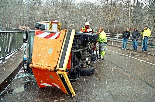 Frost sorgt für viele Unfälle