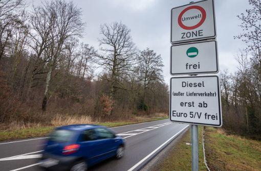 Fahrverbot: Gutachten schwächt Land