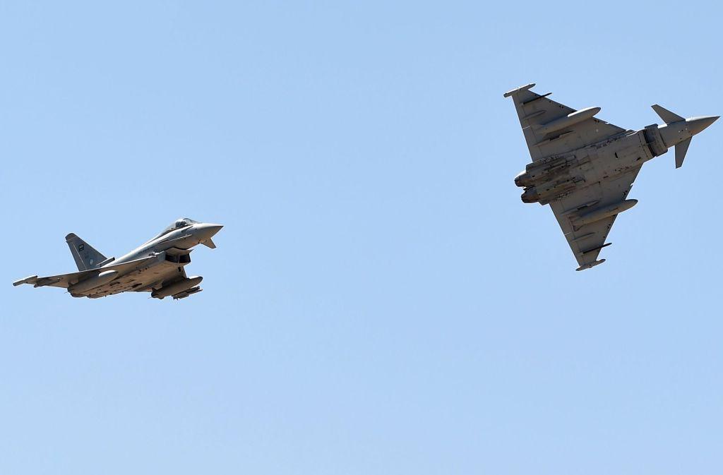 Ist beim Kauf des Eurofighters alles mit rechten Dingen zugegangen? Foto: AFP