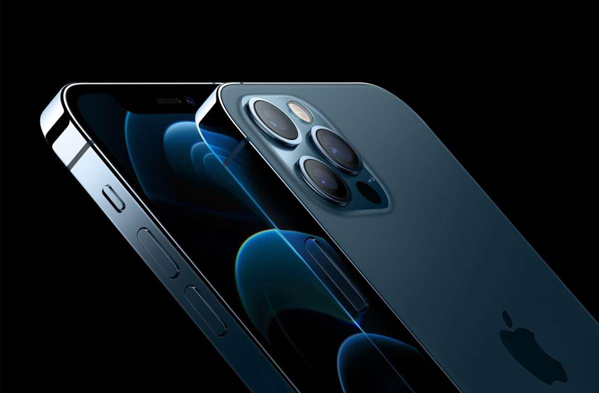 Das iPhone von Apple  hat den Argwohn der Wettbewerbshüter in Deutschland erregt. (Archivbild) Foto: dpa/Apple